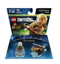LEGO Dimensions Fun Pack: Legolas (Legolas and Arrow Launcher included)