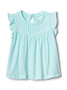 Gap offers baby girl bodysuits that will keep your baby girl comfy. Choose from a variety of baby girl bodysuits, tops and t shirts. Baby Girl Clothes Sale, Girls Clothes Shops, Girl Clothing, Frocks For Girls, Little Girl Dresses, Girls Dresses, Stylish Toddler Girl, Toddler Girl Style, Kids Outfits