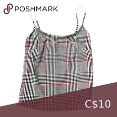 Crop top tank Crop top tank. Size: S Condition: brand new, only tried on. Tops Crop Tops Cropped Tank Top, Crop Tops, Tank Tops, Plus Fashion, Fashion Tips, Fashion Trends, Top Colour, Brand New, Black And White
