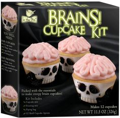 Brains cupcake kit!!!