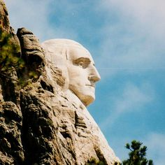 Mount Rushmore was conceived as a way to attract tourists to South Dakota. The first project proposed was a carving of a Sioux chief on a nearby granite spire, but the sculptor, Gutzon Borglum, convinced officials that presidents would draw more visitors and that Mount Rushmore was a better site. | via Travel + Leisure