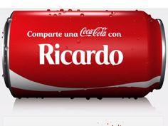 La reconocida marca de refrescos lanzó una singular campaña en la que pone nombres de personas o parentescos a cada envase