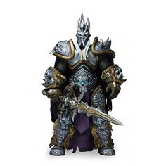 Arthas from World of Warcraft stands about 7 Inch tall Nearly 30 points of articulation Frostmourne sword accessory included