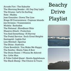 Beachy Drive Playlist Music Lyrics, Music Songs, Music Stuff, Yoga Music, Music Mood, New Music, Playlists, Song Playlist, Playlist Ideas