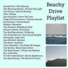 Beach drive playlist