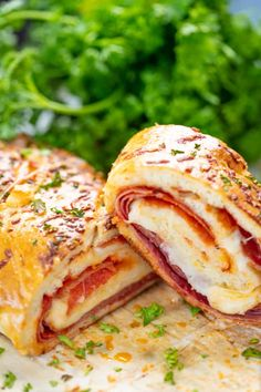 i love the topping recipe for my Stromboli! Zesty, cheesy and perfect for pizza night this Italian Meat Stromboli recipe is an easy and delicious addition to your weeknight routine! Pizza Recipes, New Recipes, Dinner Recipes, Cooking Recipes, Favorite Recipes, Cooking Ideas, Yummy Recipes, Food Ideas, Recipies