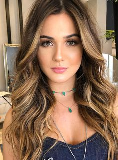 ♥️ Pinterest: DEBORAHPRAHA ♥️ blonde honey balayage