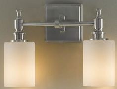 McKinley Wall Fixture $169. For possible side lights in master bath