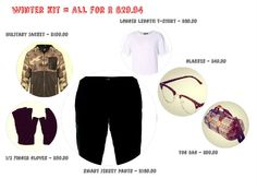 Winter Kit = All for less than R630  @mrpfashion  #myORwinter