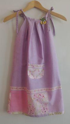 Vestido de menina feito à mão - projecto Dress a girl
