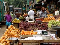 Fruit market in kozhikode -- by Bryce Edwards