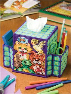 Plastic Canvas - Tissue Topper Patterns - Boutique-Style Patterns - Desktop Pets