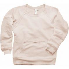 ever/after kanga pocket fleece sweatshirt