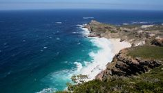 It's easy to spend an unforgettable day at Cape Point. Just an hour outside of Cape Town, the pristine South African reserve marks the most southwesterly tip of the continent… Day Tours, Cape Town, Continents, Things To Do, Water, Outdoor, Things To Make, Gripe Water, Outdoors