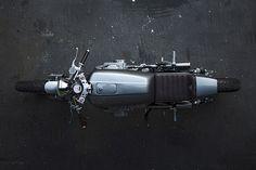 State of the art Honda custom: A sleek, minimalist CB750 by Auto Fabrica