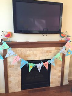 Baby shower banner handmade