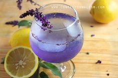 You'd be hard pressed to find a beverage more beautiful than this purple pastel number, and its combination of lavender, coconut water and lemons make it delicious to boot. Just add gin or vodka to take it from mocktail to cocktail. Recipe: Confectionalism   - ELLEDecor.com
