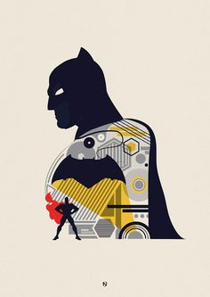 The Geeky Nerfherder: #CoolArt: 'Batman v Superman' by Matt Needle
