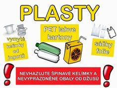 Třídění odpadu - plast
