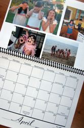 Compile a Family Photo Calendar - have the kids make for their parents at the end of the year... pics from each month in school??