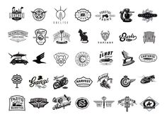 Logos by David Cran. Dribbble.