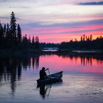 Keep calm and paddle on Shared from our friend Check out his amazing feed! Canoe, Sunrise, Beautiful Pictures, Aqua, In This Moment, Mountains, World, Instagram Posts, Photography