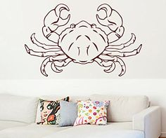 Here are some of the best #gifts for a #cancer #astrological sign. You can neat #home #decor along with #fashion for both men and women. Additionally, many of these gifts are also great for year around and for #zodiac #water signs as they share that with a cancer Wall Vinyl Sticker Decal Horoscope Zodiac Cancer Crab Nursery Room