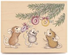 Image detail for -House Mouse Lifesaver Presents Rubber Stamp