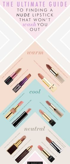 Color Me Lips: Picking the Right Nude Lipstick by Keli Change | Lucky Community