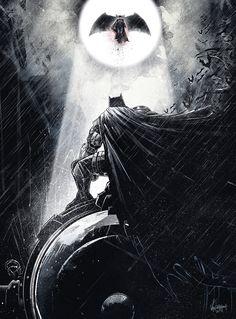 Batman v Superman: Dawn of Justice by JP Valderrama - Imgur