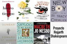 Proyecto Hogarth Shakespeare. Grandes autores versionando obras de Shakespeare - https://www.actualidadliteratura.com/proyecto-hogarth-shakespeare-autores-versionando-shakespeare/