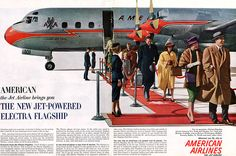 American Airlines Electra Flagship 707, 1959