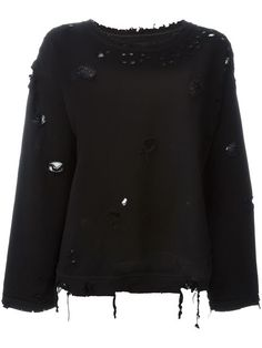 Rta distressed sweatshirt