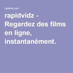 rapidvidz - Regardez des films en ligne, instantanément.