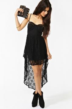 Spiked Corset Dress @ Nasty Gal, $78