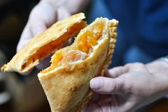 Sweet and juicy Louisiana peaches are the star of this recipe for hand-held pies.