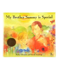 Look at this #zulilyfind! My Brother Sammy Is Special Hardcover #zulilyfinds