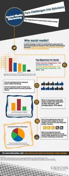 Social Media Strategy [Infographic] - Ciceron