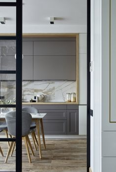 Home Interior Design And Makeover Tips – BusyAtHome Best Kitchen Designs, Modern Kitchen Design, Interior Design Kitchen, Interior Decorating, Color Interior, Interior Ideas, Door Design, House Design, Design Room