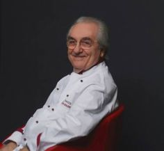 Gualtiero Marchesi. This man is incredible! Google him. If you ever find yourself in Northern Italy you must go to his ristorante in L'Albereta hotel in Franciacorte, Italy. Best food I have ever had.