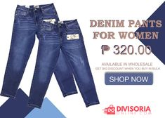 Shop our high-quality Denim Blvd pants for women at affordable prices. Discover our fashionable items in our large selection at OverrunsPhilippines. Shop now and get big discounts! Straight Cut Pants, Denim Pants, Jeans, Pants For Women, Clothes For Women, Cool Style, Shop Now, Just For You, Women's Clothing