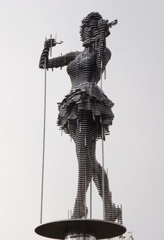 Z02K.info | internet is our sea - anitaleocadia: Park Chan-girl (metal sculptures)
