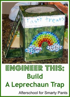 STEM for kids: Design and build a leprechaun trap