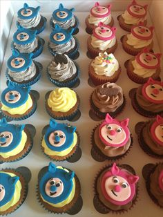 billy and Bam Bam cupcakes