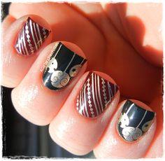 Let Them Have Polish - Socialbliss Creative Nail Designs, Creative Nails, Nail Art Designs, Fabulous Nails, Gorgeous Nails, Plain Nails, Mani Pedi, Nail Tips, How To Do Nails