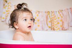 First Birthday ~ Bath Time ~ Seattle Family Photography ~ Amanda Alexander Photography
