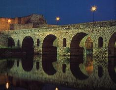 Located in Merida,Spain the Merida bridge is the longest Roman bridge in the world today. It measures 792 meters long and contains 60 arches.