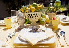 Lemons and lavendar