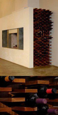 creative wine storage