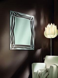 Zrkadlo ONDE Mirrors, Wall Lights, Lighting, Home Decor, Appliques, Decoration Home, Room Decor, Lights, Home Interior Design